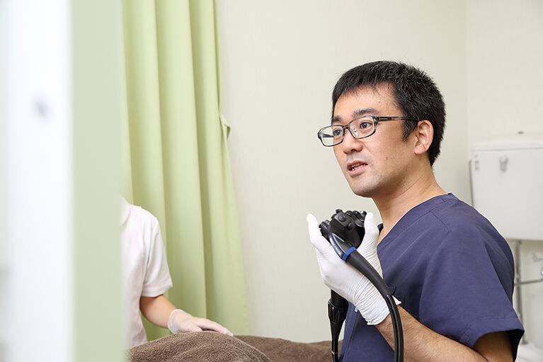 内視鏡専門医による安全・確実な大腸内視鏡検査